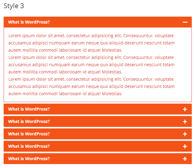 Awesome FAQ PRO example - Style-3