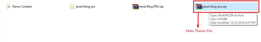 unpacking jewel blog pro